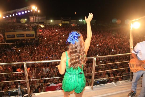 Ivete Sangalo (Foto: Fred Pontes/FotoRio News)