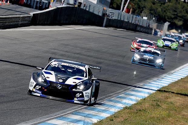 LEXUS GT3 da dupla Costa e Frommenwiler vencedores da corrida 1 (Foto: Divulgação/FOTOSPEEDY)