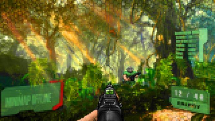 Crysis no PS1 seria assim? (Foto: Reprodução/NeoGAF)