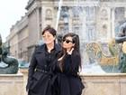 Mãe de Kim Kardashian fala da neta: 'Uma mistura do pai e da mãe'