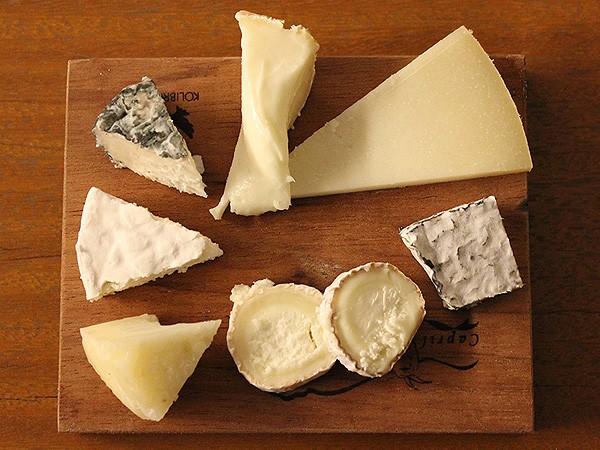 Os queijos degustados na noite (Foto: Patricia Oyama/ Editora Globo)