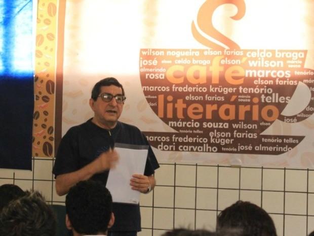 Escritor Márcio Souza fará palestra gratuita (Foto: Divulgação)