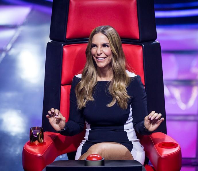 """Ivete Sangalo foi a mais solicitada na estreia do """"The Voice Kids"""" (Foto: Isabella Pinheiro/Gshow)"""
