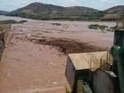 Lama da barragem de Mariana chega com maior intensidade a Valadares