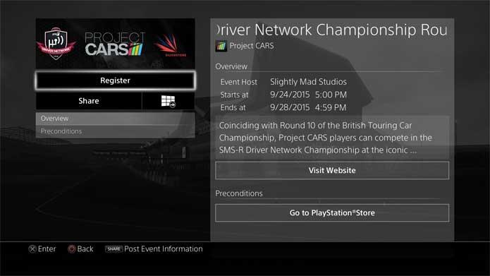 Será possível acompanhar eventos no PS4 (Foto: Divulgação/Sony)