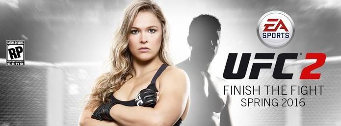 Ronda Rousey é estrela de novo game do UFC (Foto: Divulgação)