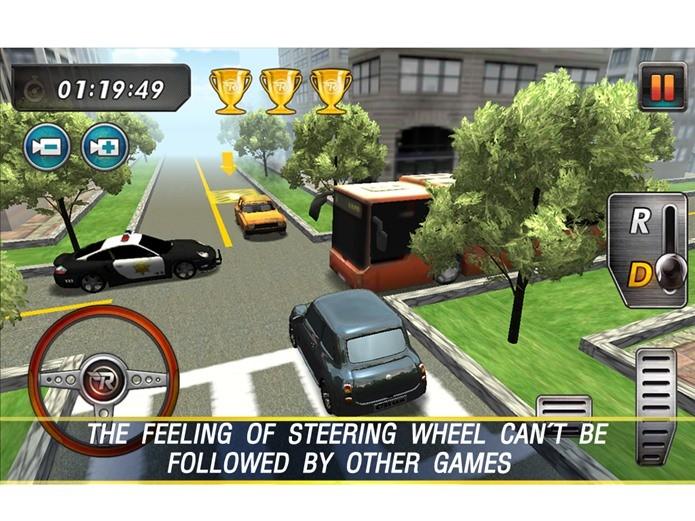 O jogo de estacionar mais bonito do Android é Real Parking 3D (Foto: Divulgação)