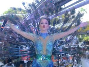 Timbalada; Millane; Carnaval; Bahia (Foto: Márcio Reis /Ag Haack)