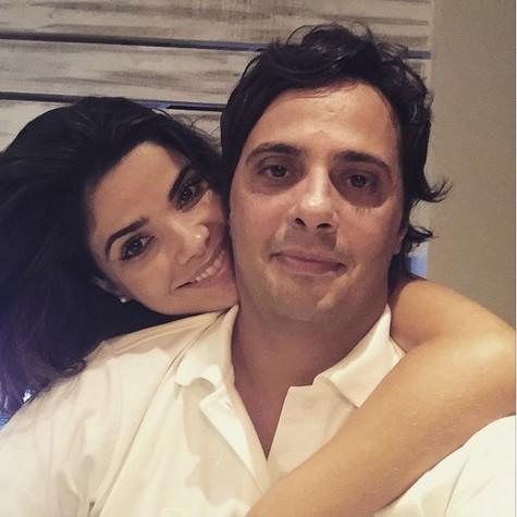 Vanessa e marido, Giuseppe (Foto: Reprodução)
