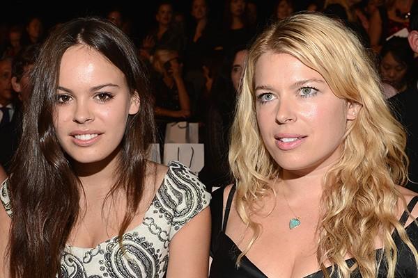 Atlanta de Cadenet Taylor e Amanda de Cadenet (Foto: Getty Images)