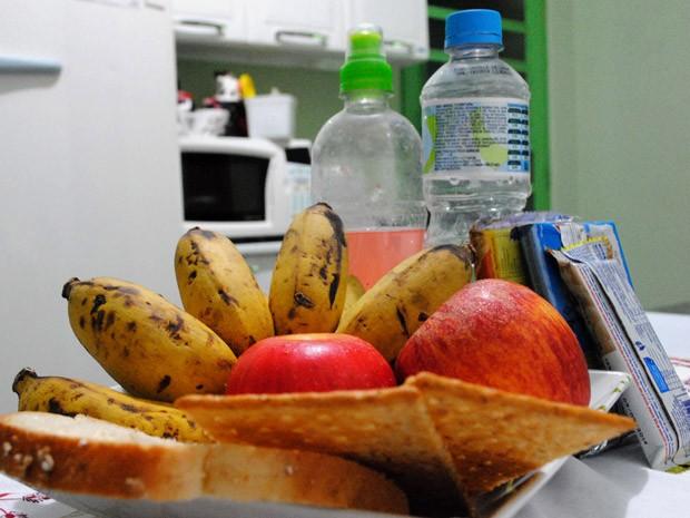 Alimentação leve ajuda candidatos na FUvest (Foto: Daniel Corrá/ G1)