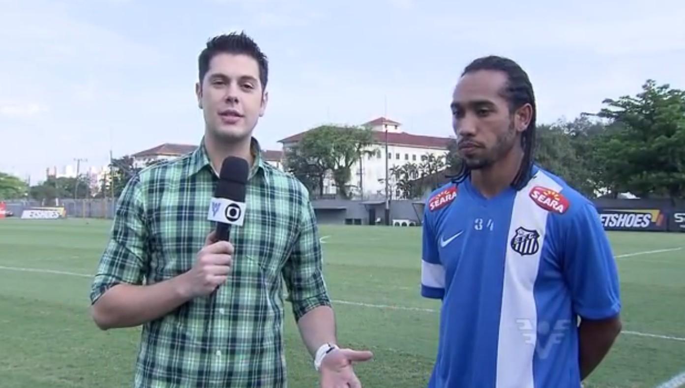 Renato Cury e Evandro Costa (Foto: Reprodução/TV Tribuna)