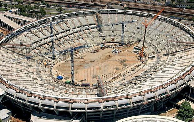 obras estádio Maracanã Copa 2014 Fifa (Foto: Divulgação / FIFA.com)