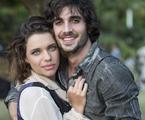 Cibele (Bruna Linzmeyer) e Ruy (Fiuk)   Estevam Avellar/Globo