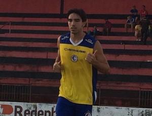 Paulo Junior, atacante do Campinense (Foto: Silas Batista / GloboEsporte.com/pb)