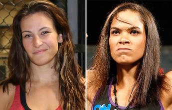 Luta entre Amanda Nunes e Miesha Tate tem acerto verbal e aguarda data