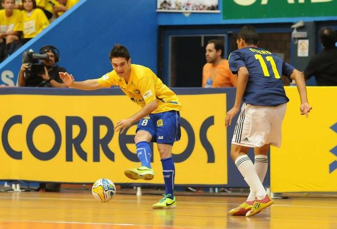 Zico Brasil Colômbia Copa Intercontinental Futsal (Foto: Luciano Bergamaschi/CBFS)