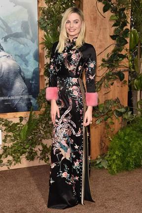 Margot Robbbie em première em Los Angeles, nos Estados Unidos (Foto: Alberto E. Rodriguez/ Getty Images/ AFP)