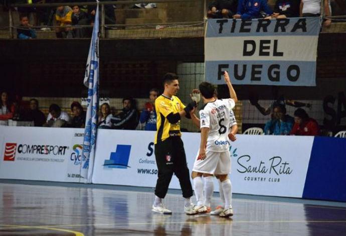 Joinville Pablo Rojas Libertadores de Futsal (Foto: Divulgação )