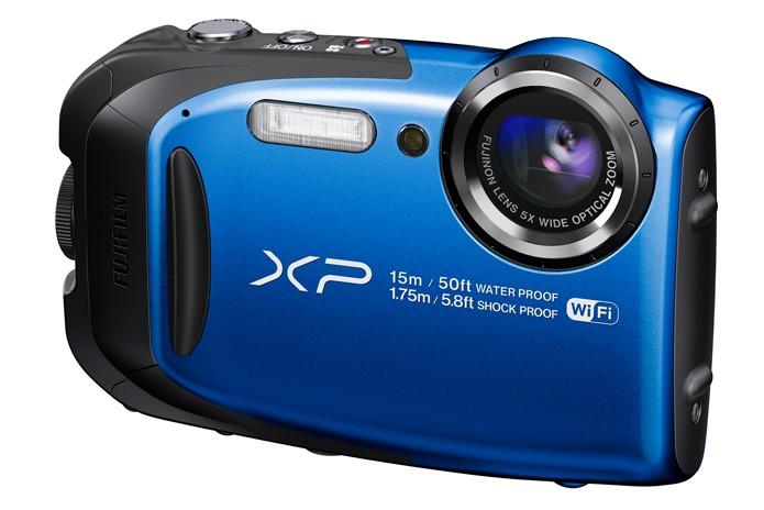 Com sensor de 16,4 megapixels, resistência e WiFi, câmera da Fujifilm se torna opção interessante diante da GoPro (Foto: Divulgação/Fujifilm)