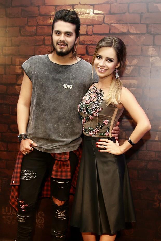 Luan Santana e Sandy (Foto: Manuela Scarpa/Brazil News)