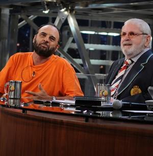 Pachecão mostra como a física pode ser útil na vida (TV Globo/Programa do Jô)
