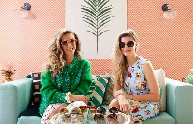 Chantal Goldfinger e Barbara Migliori falam sobre óculos de sol (Foto: Tati Viana / 4 You Filmes)