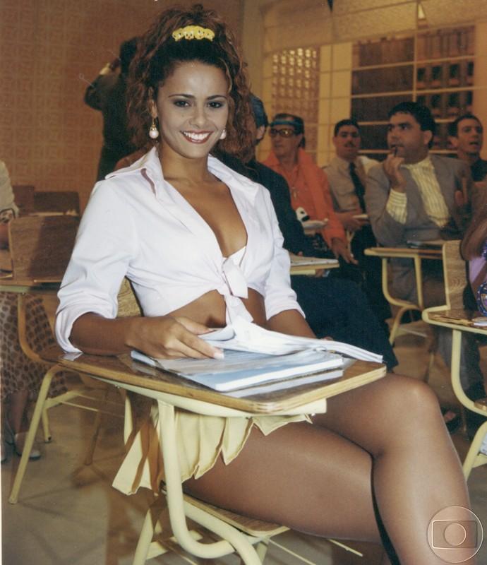 Vivi Araújo interpretava a personagem Rosinha na Escolinha  (Foto: CEDOC/TV Globo)