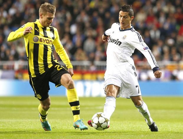 Cristiano Ronaldo, Real Madrid e Borussia Dortmund (Foto: Agência Reuters)