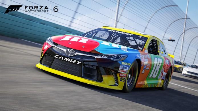 Forza Motorsport 6 adiciona carros da NASCAR e nova campanha com 10 horas de conteúdo (Foto: Divulgação/Forza Motorsport 6)