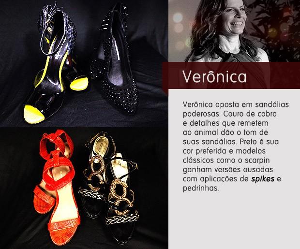 Verônica sapatos (Foto: Avenida Brasil / TV Globo)