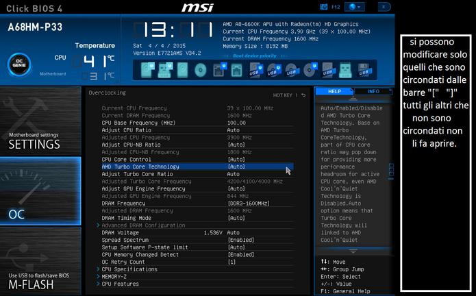 Algumas configurações de CPU permitem diminuir o consumo, reduzindo a alimentação do processador (Foto: Divulgação/MSI)