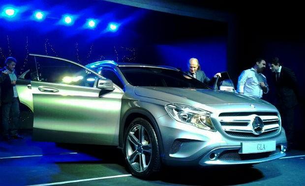Mercedes apresenta no Brasil o crossover GLA, futuro nacional (Foto: Leandro Alvares/ Autoesporte)