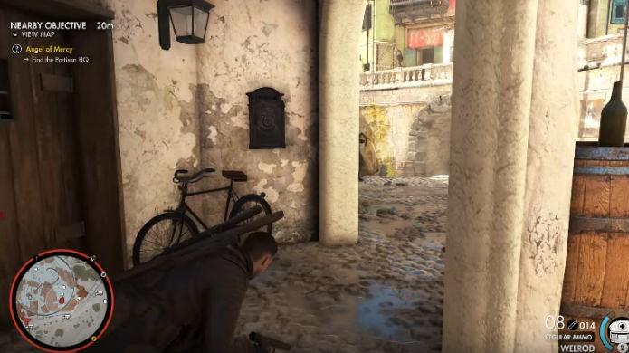 Sniper Elite 4: comprar o passe de temporada ajuda a liberar itens (Foto: Reprodução/Thomas Schulze)