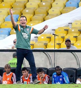 Enderson Moreira Fluminense X Corinthian (Foto: Marcello Dias / Estadão Conteúdo)