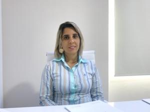 Fernanda Nassar explica cuidados necessários durante o verão (Foto: Rodrigo Martins/ G1)
