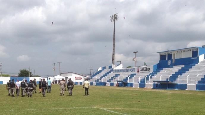 Estádio Sílvio Porto, em Guarabira (Foto: Divulgação / FPF)