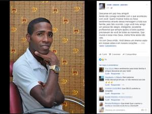 Valdir foi morto a tiros dentro do próprio salão em Salvador (Foto: Reprodução/Facebook)