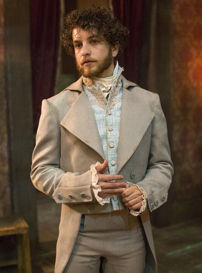 Luan Vieira interpreta o personagem Otto em 'Liberdade, Liberdade' (Foto: Ellen Soares/Gshow)