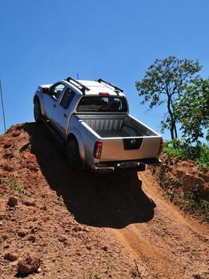 Frontier superou subida íngrime durante teste (Foto: Divulgação)
