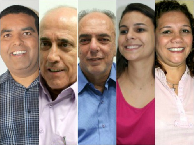 Candidatos à Prefeitura de Porto Velho participam do último debate antes do primeiro turno das eleições 2012 (Foto: Jenifer Zambiazzi/ G1)