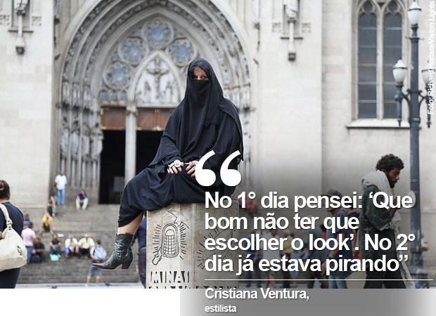 Frase Cristiana Ventura (Foto: Richard Hodara/Vision Lights)