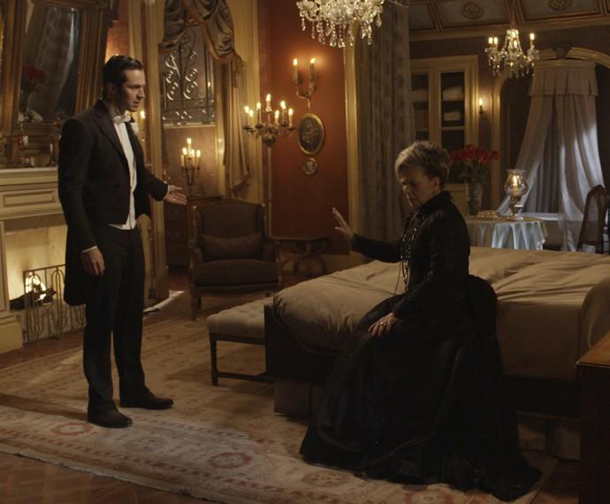 O que será que a Condessa vai fazer? (Foto: TV Globo)