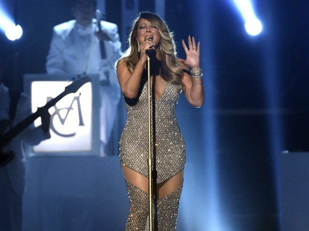Mariah Carey se apresenta no Billboard Music Awards 2015 (Foto: Chris Pizzello/Invision/AP)