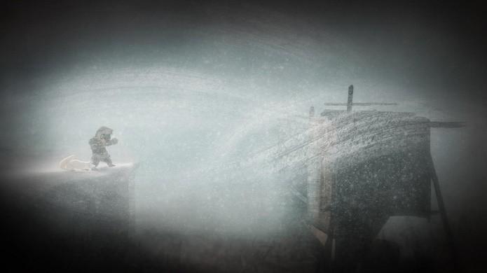 Tempestades de Never Alone são usados em boa parte dos quebra-cabeças (Foto: Divulgação)