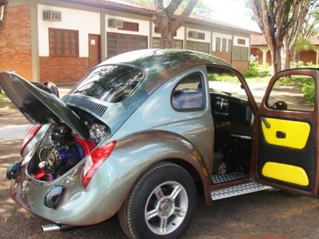 Minifusca tem peças de seis veículos diferentes (Foto: Álbum pessoal/Divulgação)