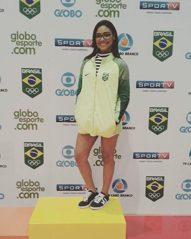 @linianascimento, #vcnogepb, Jogos Escolares da Juventude, JEJs, Giba (Foto: Arquivo pessoal)