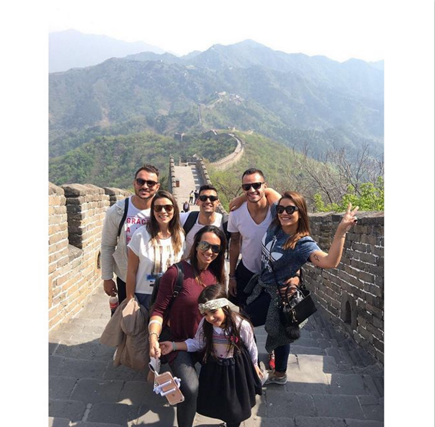 "BLOG: Renato Augusto usa folga para visitar a Muralha da China: ""Obra da humanidade"""