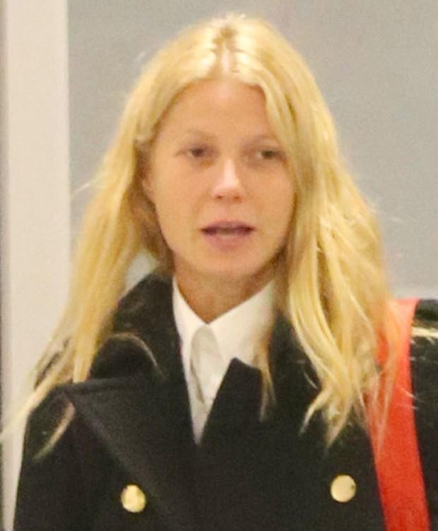 Gwyneth Paltrow sem maquiagem (Foto: Reprodução)