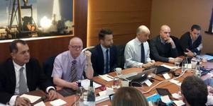 Reunião entre International Board e CBF em Londres para discutir Árbitro de vídeo (Foto: Divulgação/CBF)